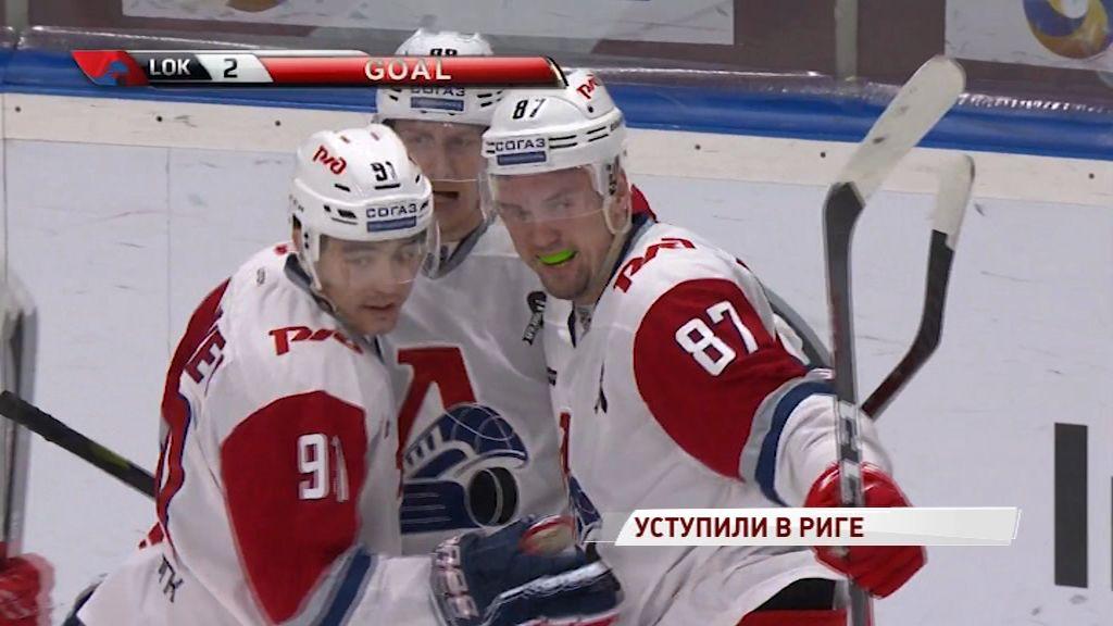 «Локомотив» по ходу матча догонял рижан, но обыграть «Динамо» так и не смог