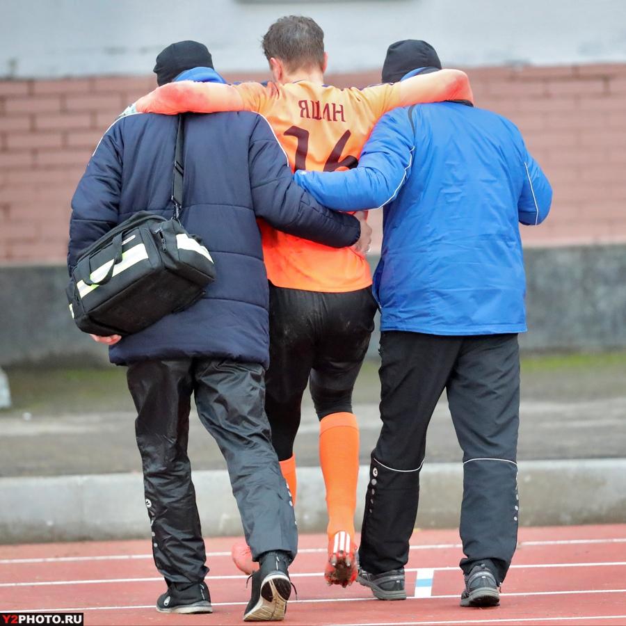 Вратарь «Шинника» из-за травмы выбыл до конца года