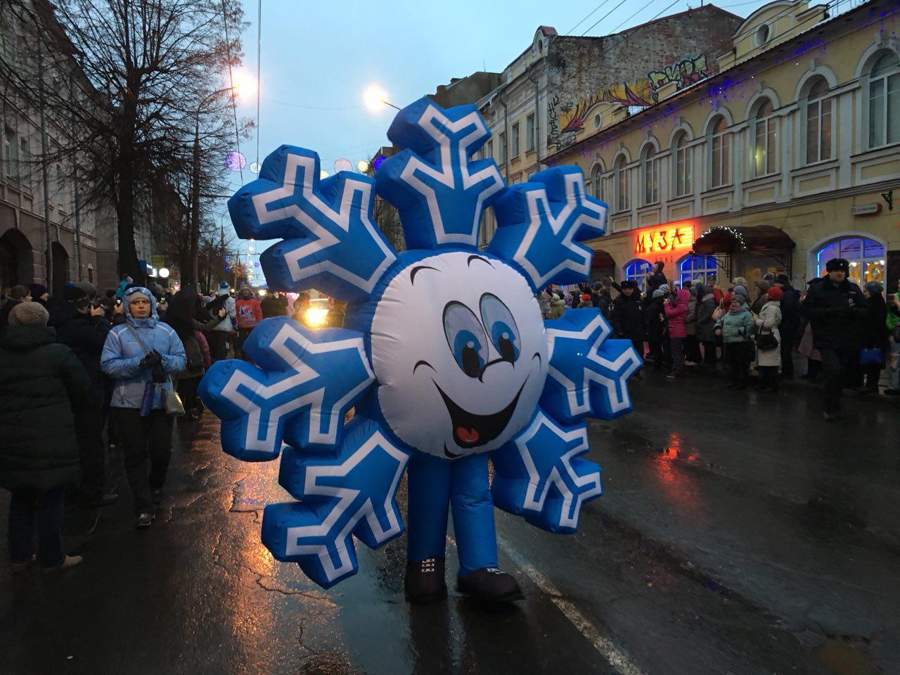 В Рыбинске выберут лучшую девочку-снежинку