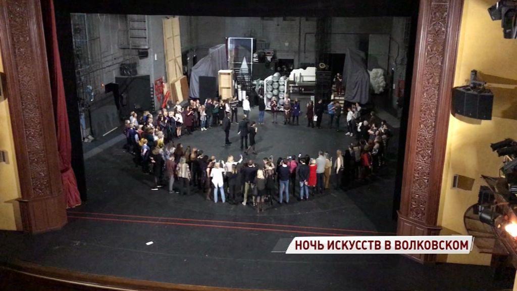 Выйти на сцену мог каждый: Волковский стал одной из самых интересных площадок «Ночи искусств»