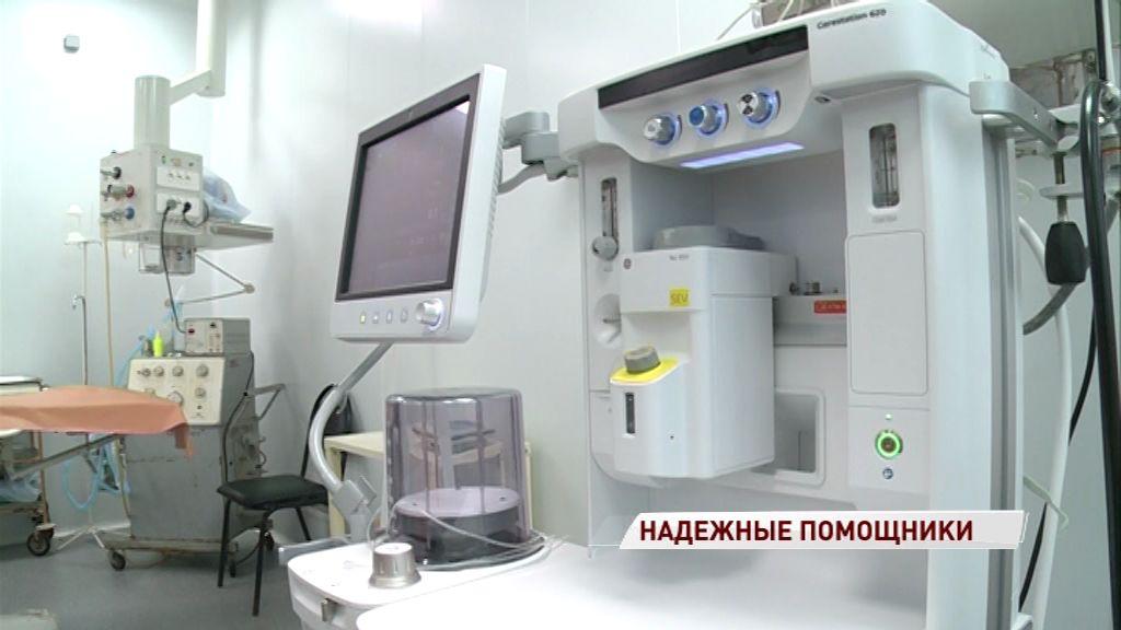 В больницу Семашко поступило новое оборудование для наркоза и вентиляции легких