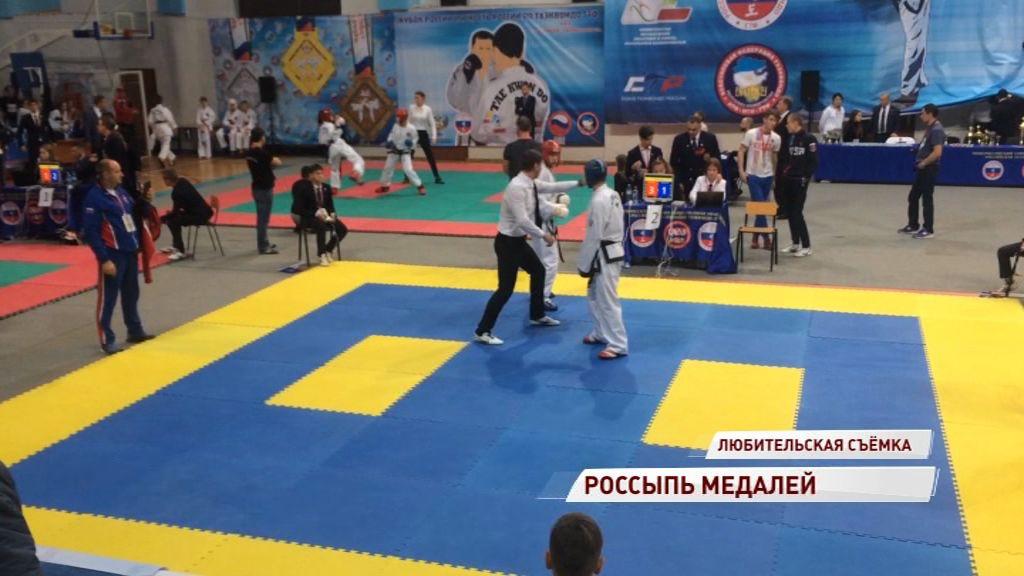 Ярославские тхэквондисты привезли 46 медалей с Кубка России