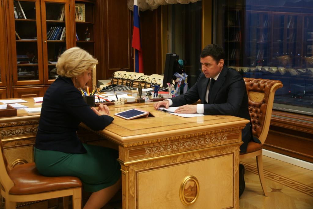 Ольга Голодец и Дмитрий Миронов обсудили открытие Года театра в Ярославле