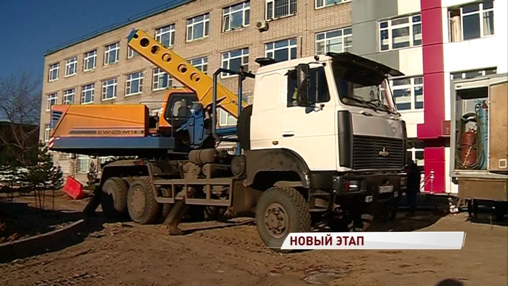 Продолжается подготовка площадки под строительство нового корпуса онкобольницы