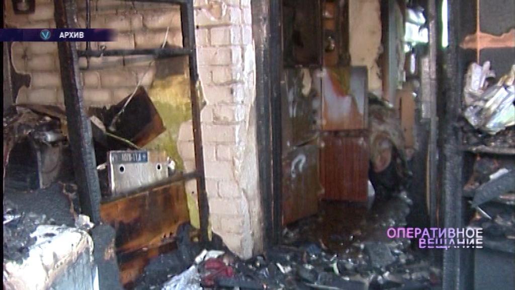 68-летняя пенсионерка погибла во время пожара в деревянном доме
