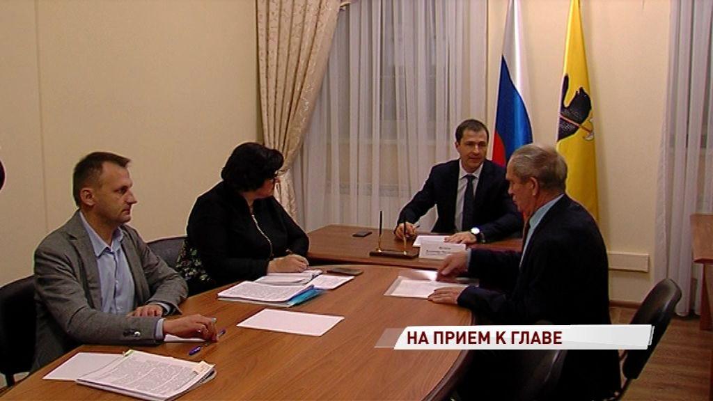 Владимир Волков провел первую встречу с горожанами в общественной приемной