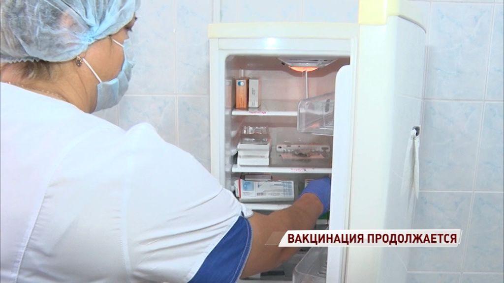 В Ярославскую области доставили новую партию вакцин от гриппа