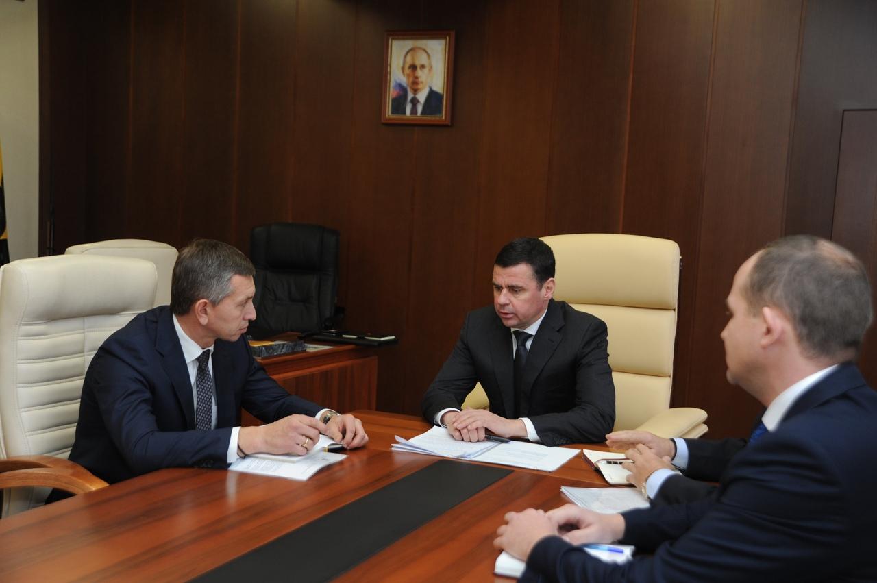 Дмитрий Миронов обсудил с главой Ярославского района вопросы благоустройства