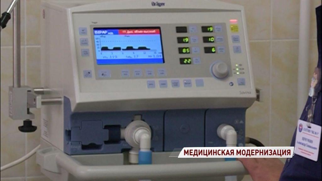 На ремонт в больницах региона потратили более 90 миллионов рублей