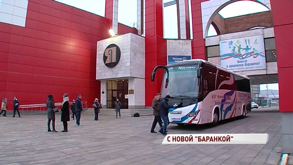 Дмитрий Миронов лично вручил «Ярославичу» ключи от нового клубного автобуса