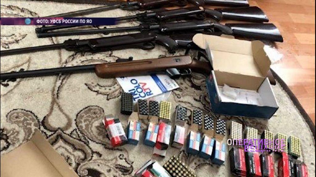 В Данилове у двух мужчин изъяли целый арсенал оружия