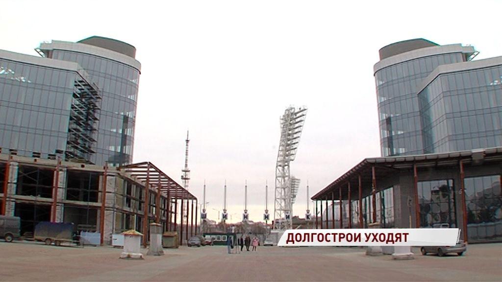 Высотки на площади Труда достроят в следующем году