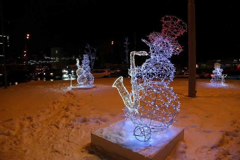 В Ярославле установят 34 световые инсталляции к Новому году