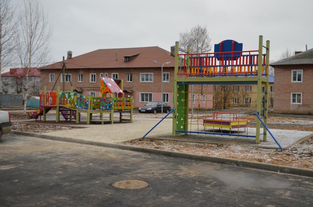 В Переславле благоустроили сквер «Утиные пруды»