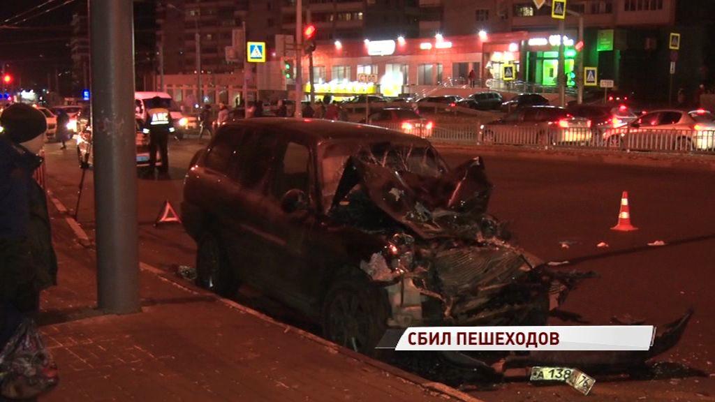 Полиция: задержан водитель, сбивший четырех человек на Московском проспекте