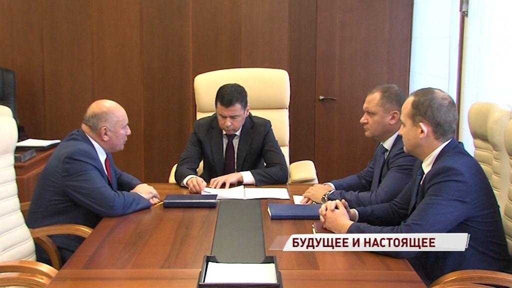 Дмитрий Миронов и Анатолий Курицын обсудили развитие Угличского района