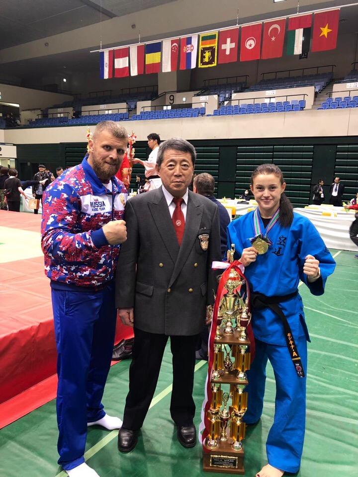 Ярославская кудоистка стала чемпионкой мира
