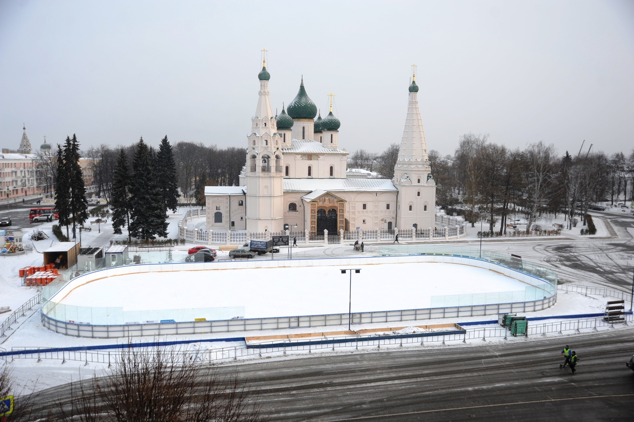 Дмитрий Миронов: «Встречать Новый год в самом сердце Ярославля стало доброй традицией»