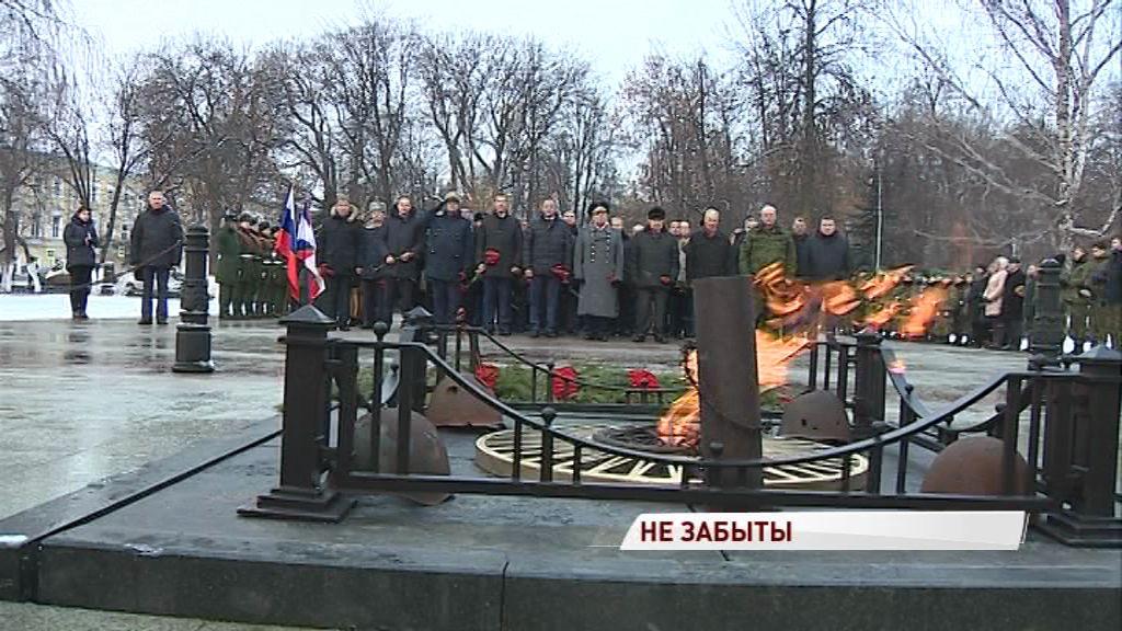«Неизвестный – не значит забытый»: ярославцы почтили память погибших на войне солдат