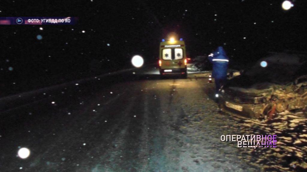 В Ярославском районе в ДТП погибла 78-летняя пенсионерка