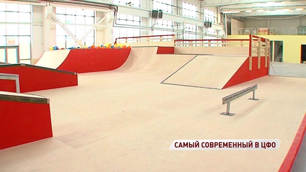 Сборная России по скейтбордингу приедет в Ярославль на открытие экстрим-парка