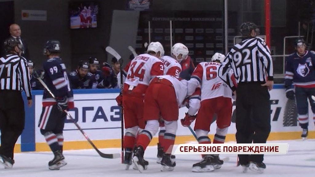 Форвард «Локомотива» выбыл из строя до конца регулярного чемпионата