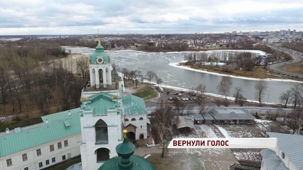 Зазвучали после 15-летнего перерыва: завершено восстановление звонницы Спасо-Преображенского монастыря
