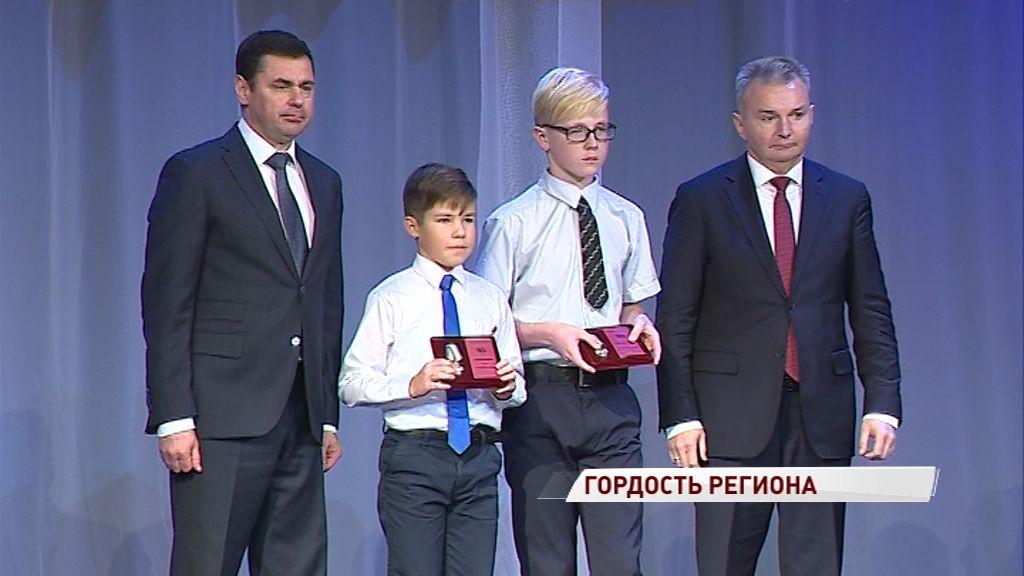 В КЗЦ «Миллениум» наградили детей, отличившихся умом и мужеством