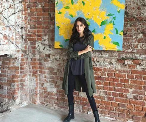 Супермодель из Ярославля открыла свою выставку картин в Лондоне