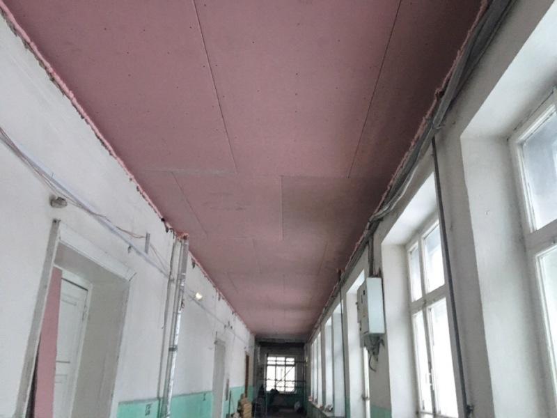 В рыбинской школе №15 заканчивается внеплановый ремонт