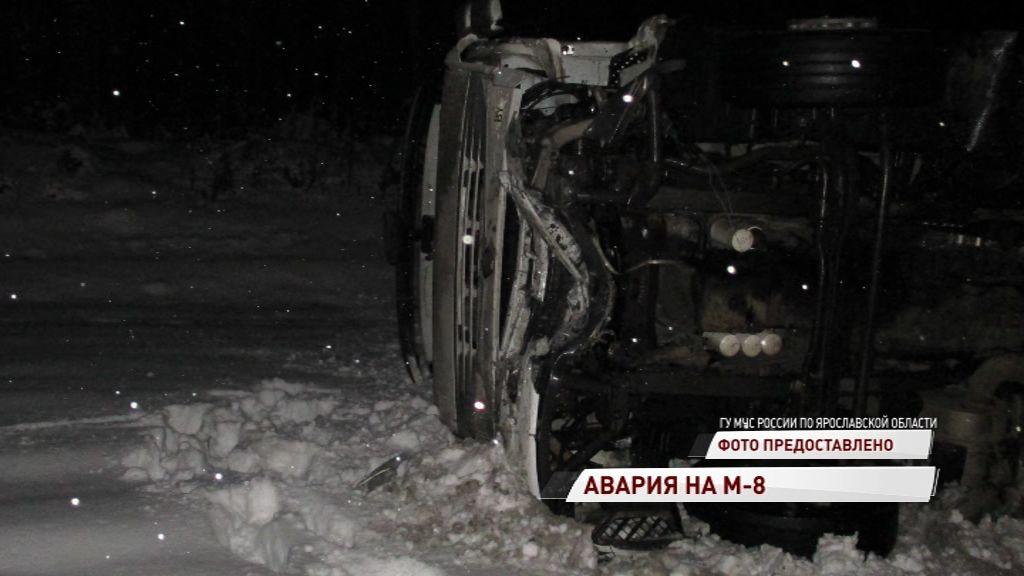 В Переславском районе в лобовую сошлись «Форд» и фура