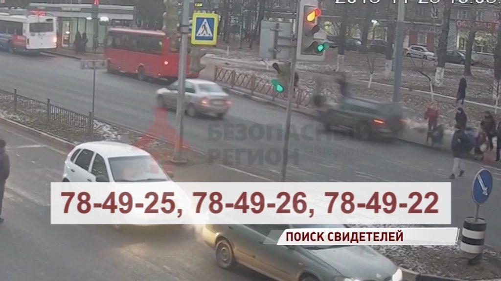На Московском проспекте «Рав 4» сбила четырех пешеходов: полиция ищет свидетелей