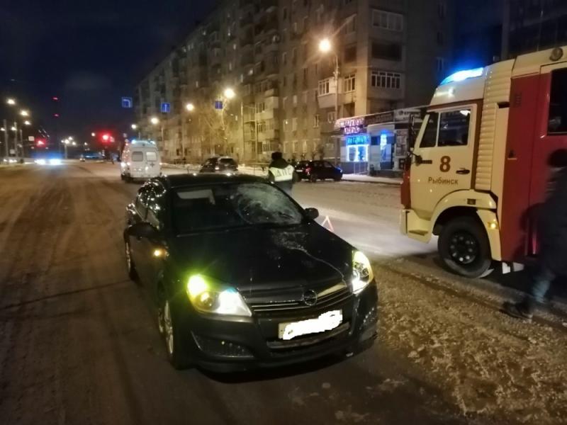 В Рыбинске под колеса «Опеля» попала пенсионерка