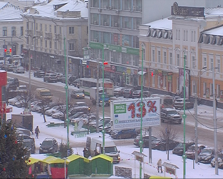 Центр Ярославля остался без света
