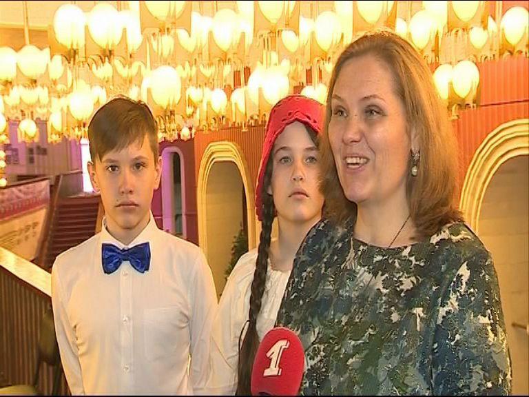 Участником Губернаторской елки стала семья-победитель всероссийского конкурса