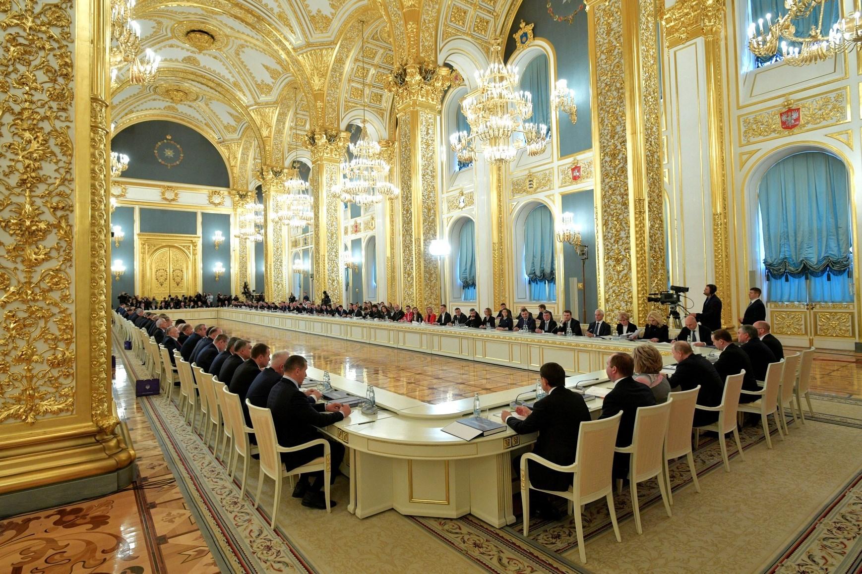Дмитрий Миронов принял участие в заседании Госсовета РФ, которое провел Владимир Путин