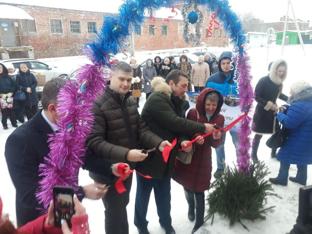 В поселке Красный Профинтерн торжественно открыли Дом культуры