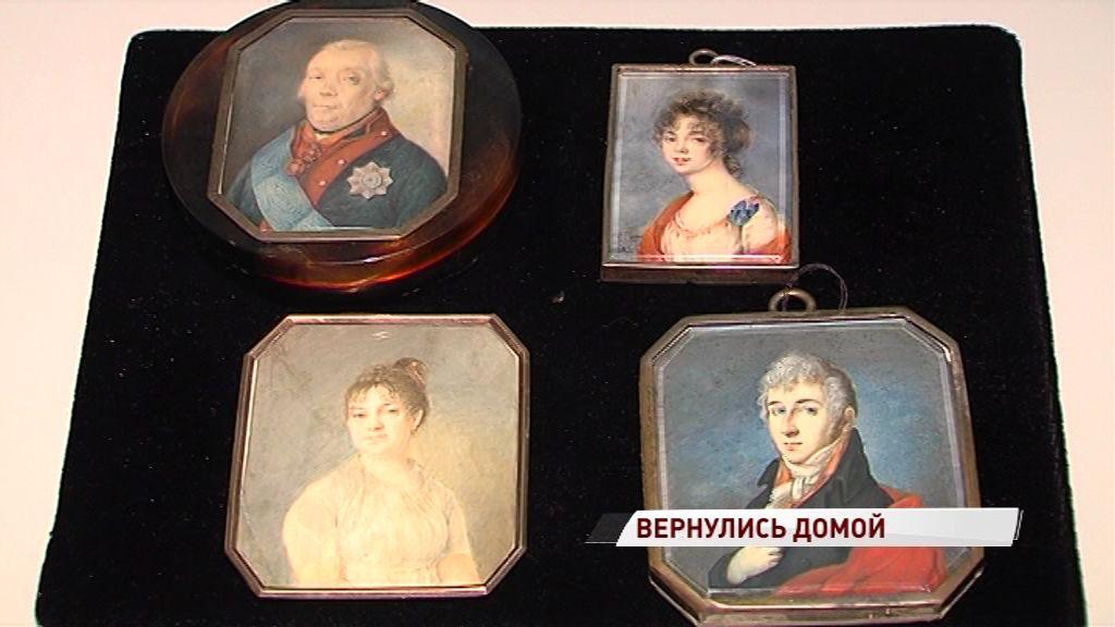 Уникальные экспонаты вернулись с реставрации в Ярославский художественный музей