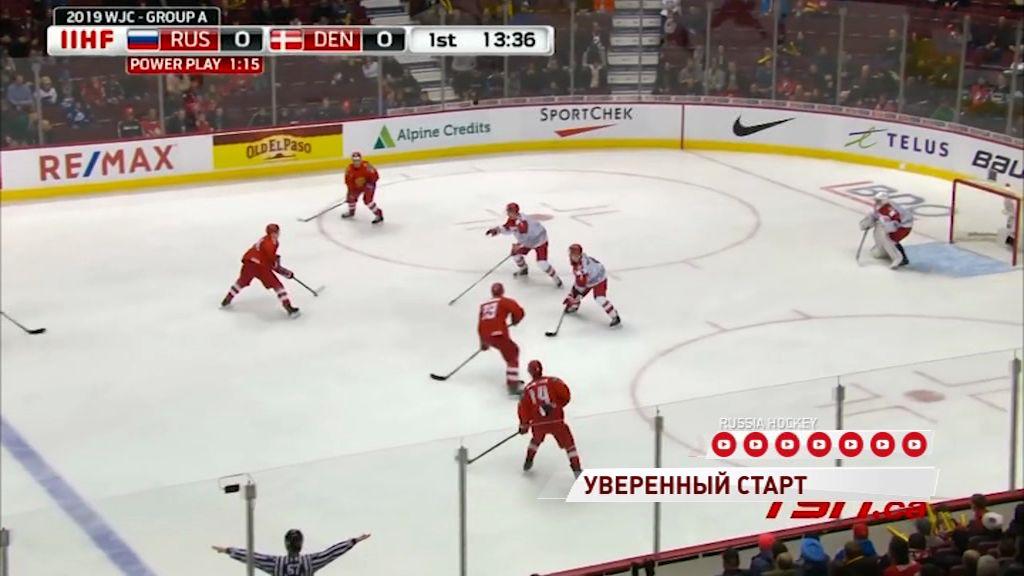 «Железнодорожники» помогли молодежной сборной России обыграть датчан