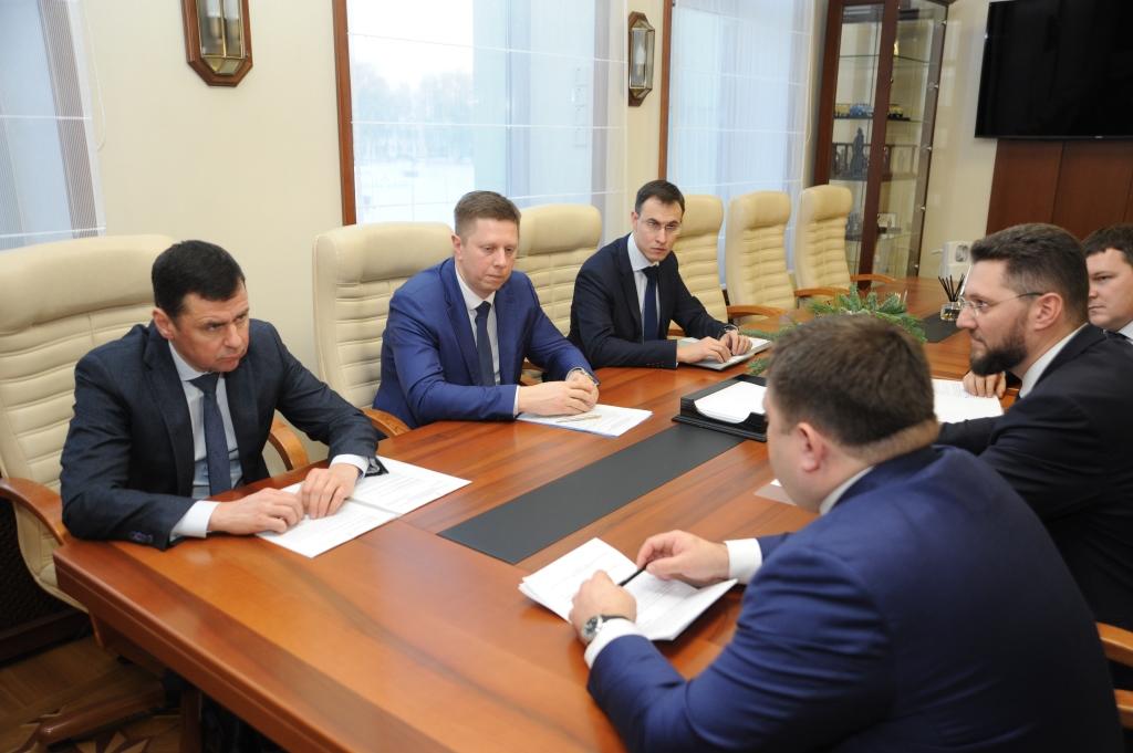 Дмитрий Миронов обсудил с председателем крупного банка поддержку региональных предприятий