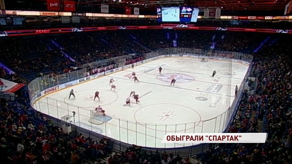 «Локомотив» одержал четвертую победу подряд в чемпионате КХЛ
