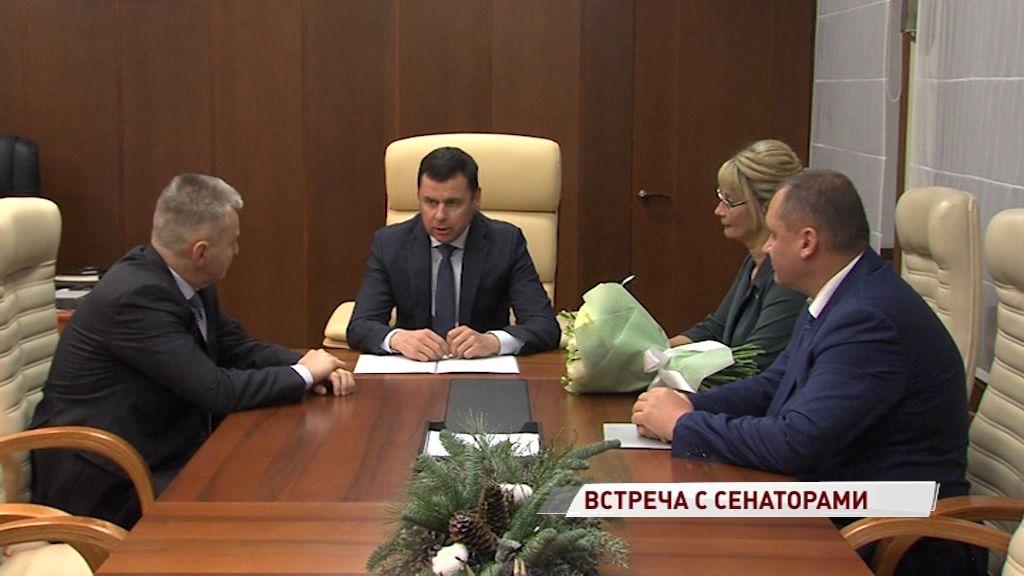 Дмитрий Миронов встретился с сенаторами