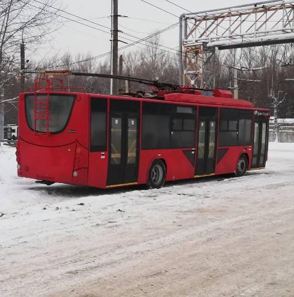 На маршруты Ярославля выйдут семь новеньких троллейбусов