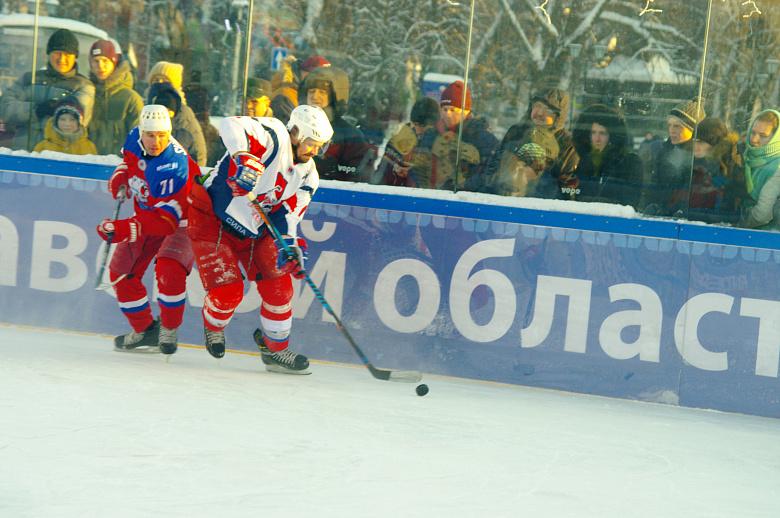 """В Ярославле завершился любительский хоккейный турнир """"Студеный лед"""""""