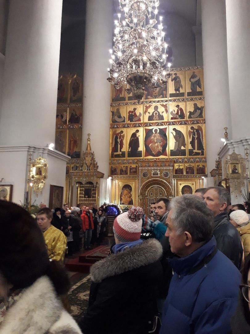 В Успенском соборе стартовала рождественская литургия