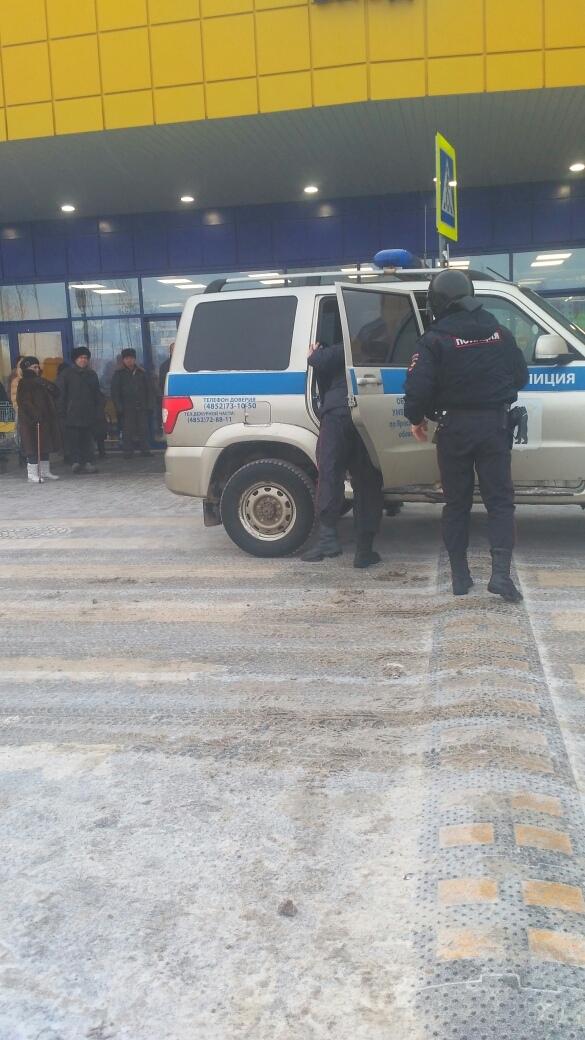 СРОЧНО: Из гипермаркета на Фрунзе эвакуировали людей