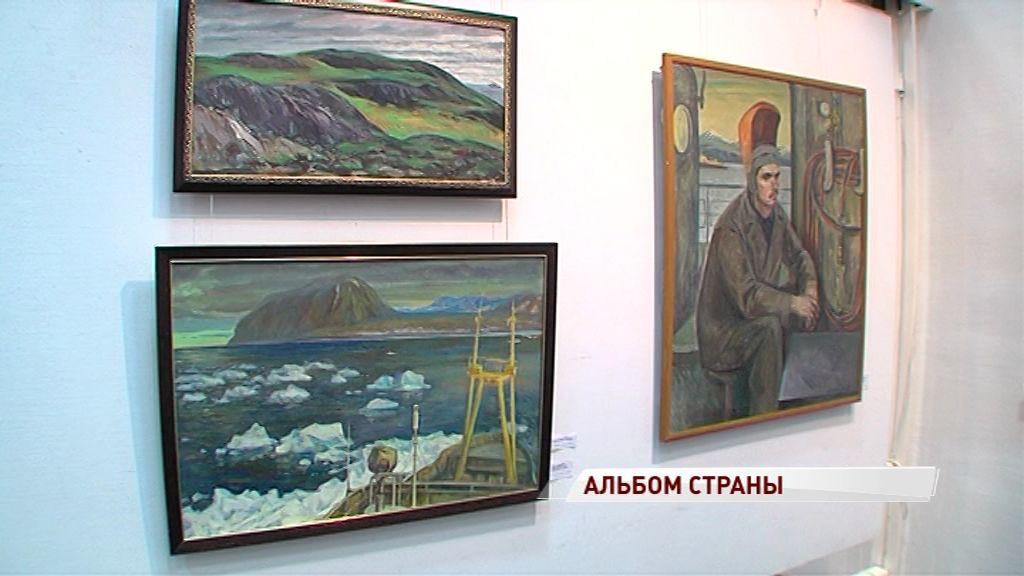 Философия страны через художественный образ: открылась выставка к юбилею Вячеслава Зарослова