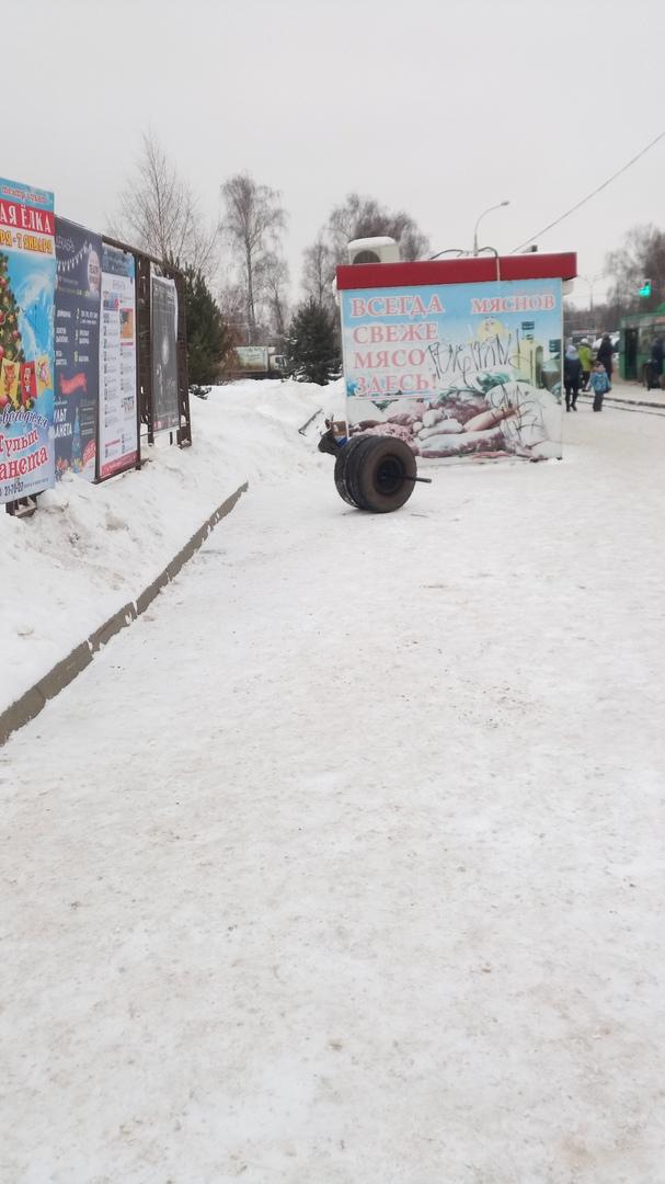 Приехали: в Рыбинске у маршрутки на ходу отлетело колесо