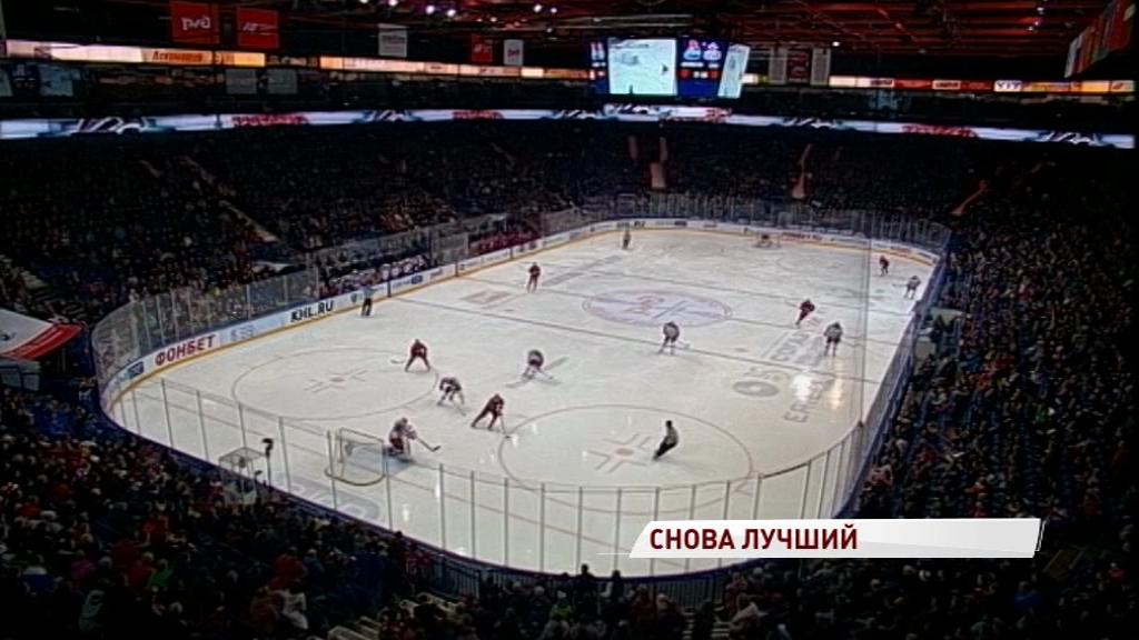 Голкипер «Локомотива» вновь стал лучшим новичком недели в КХЛ