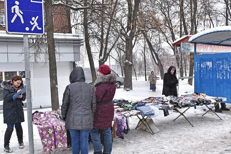 Уличных торговцев снова прогоняют с «насиженных» мест